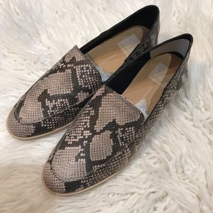 New!🌟Dolce Vita Snake Print Loafers